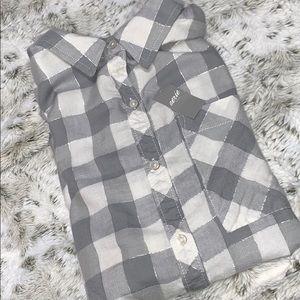 Aerie plaid sleep shirt